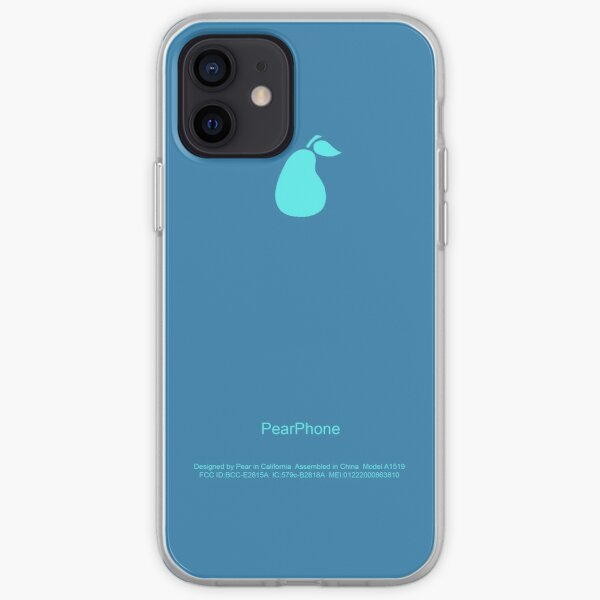 Blue PearPhone Case iPhone Soft Case