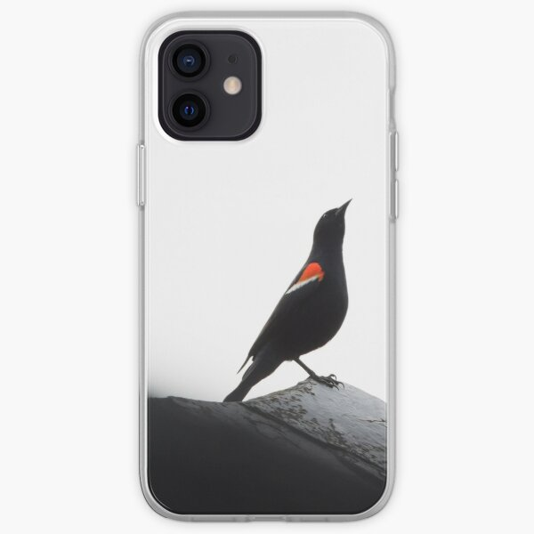Red-Winged Blackbird Males iPhone Soft Case