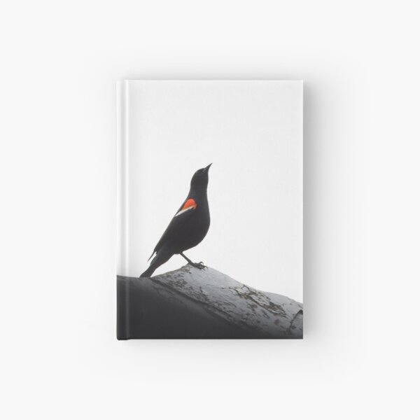 Red-Winged Blackbird Males Hardcover Journal