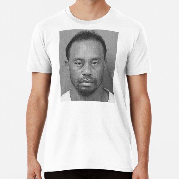 Tiger Woods Mugshot Premium T-Shirt