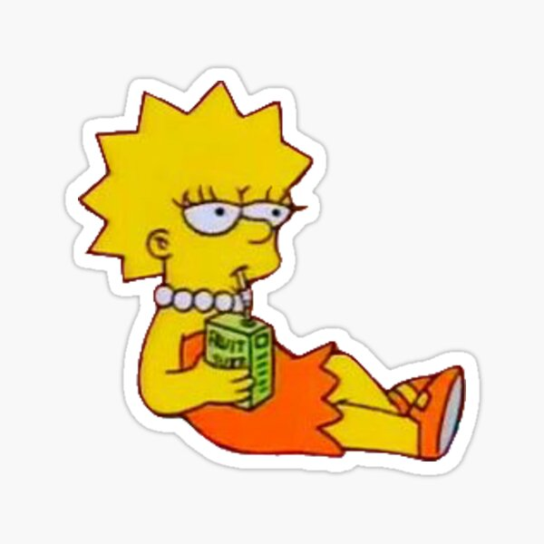 Lisa Moods Sticker