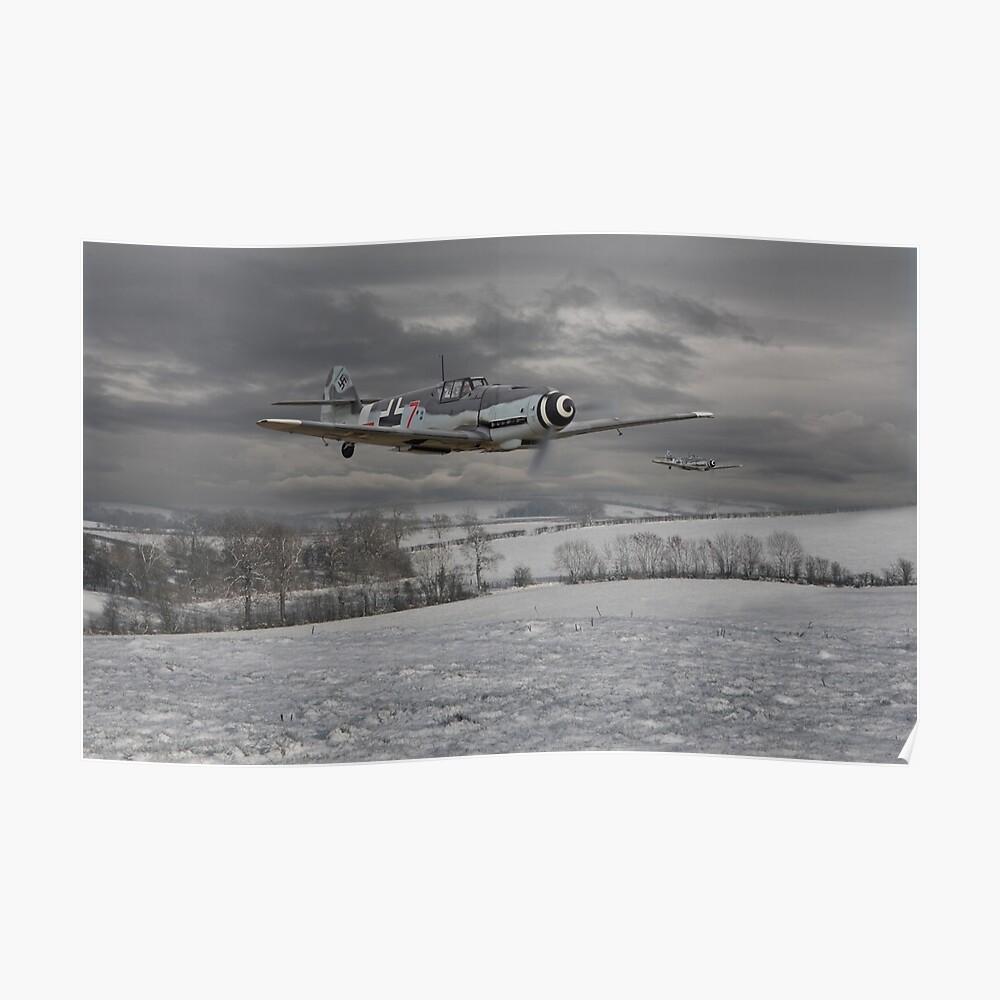 Messerschmitt Bf 109 G - Gustavs Poster