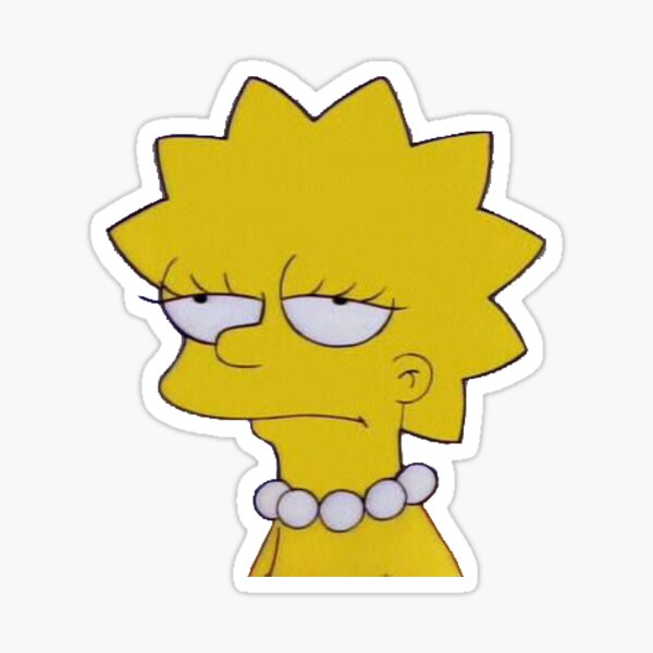 Lisa Mood Sticker
