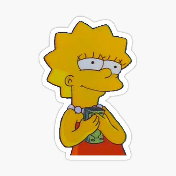 Lisa Mood Sticker
