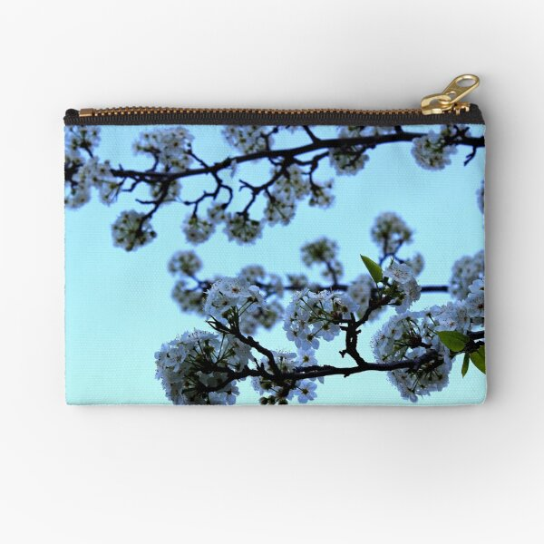 Early Morning Pear Blossom Zipper Pouch