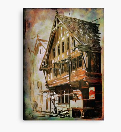 OLD HOUSE.... Canvas Print
