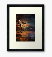 Magic of Japanese gardens. Framed Print