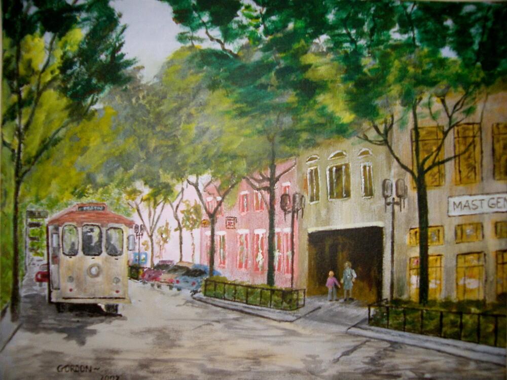 Main Street by Gordon Taylor