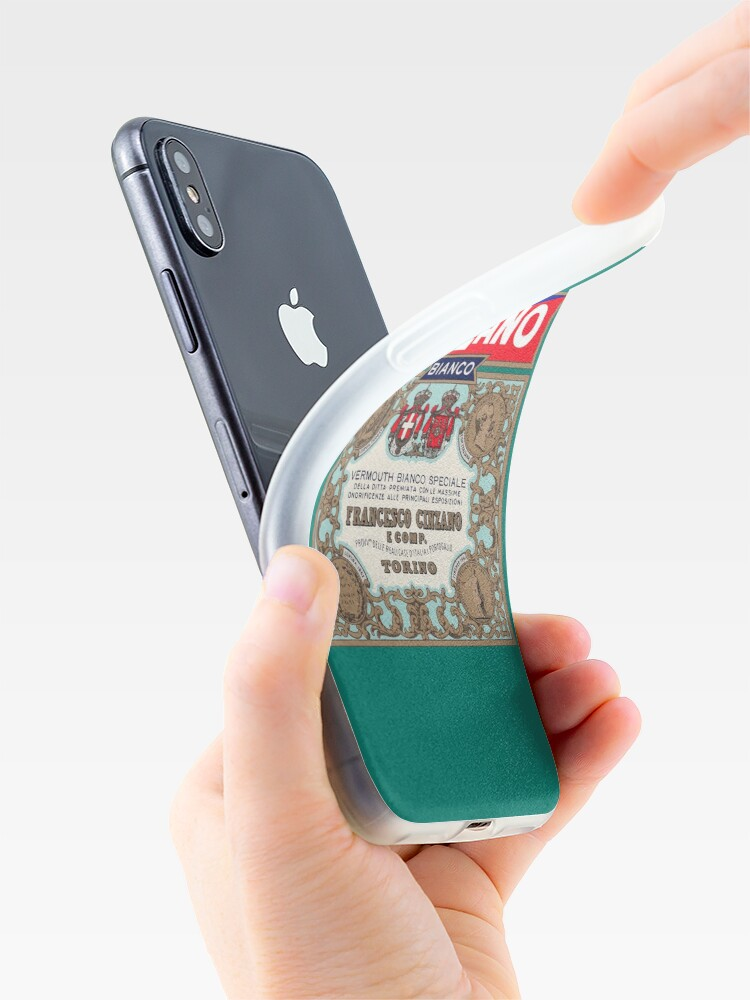 Alternate view of CINZANO iPhone Case & Cover