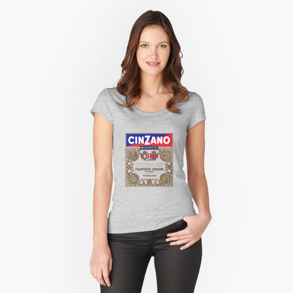 CINZANO Fitted Scoop T-Shirt
