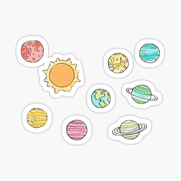 Planet Pack Sticker