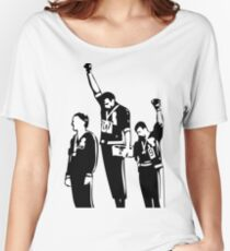 1968 Olympics Black Power Salute Women's Relaxed Fit T-Shirt