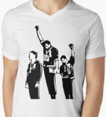 1968 Olympics Black Power Salute Men's V-Neck T-Shirt