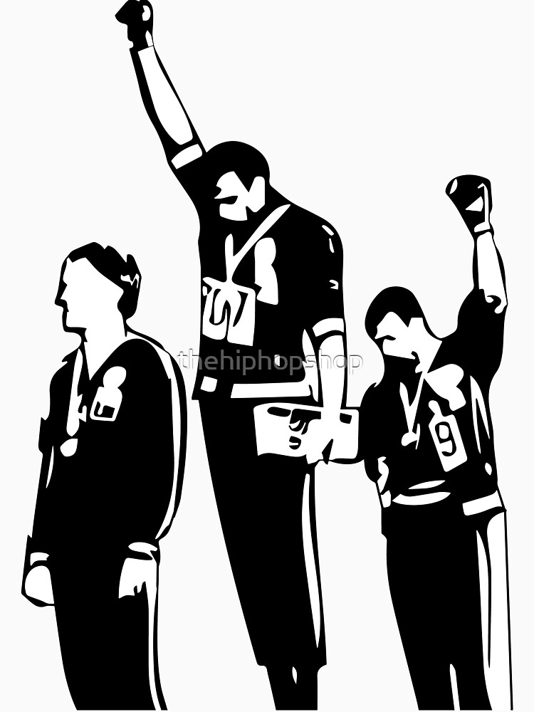 1968 Olympics Black Power Salute | Unisex T-Shirt