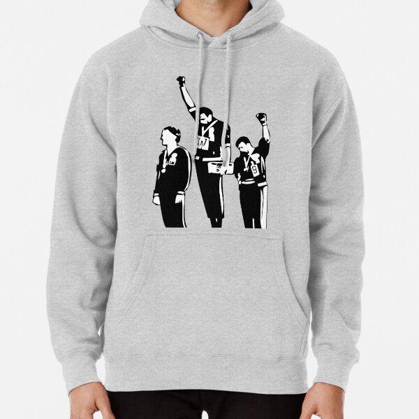 1968 Olympics Black Power Salute Pullover Hoodie
