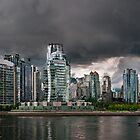 Vancouver Cityscape by Andrei I. Gere