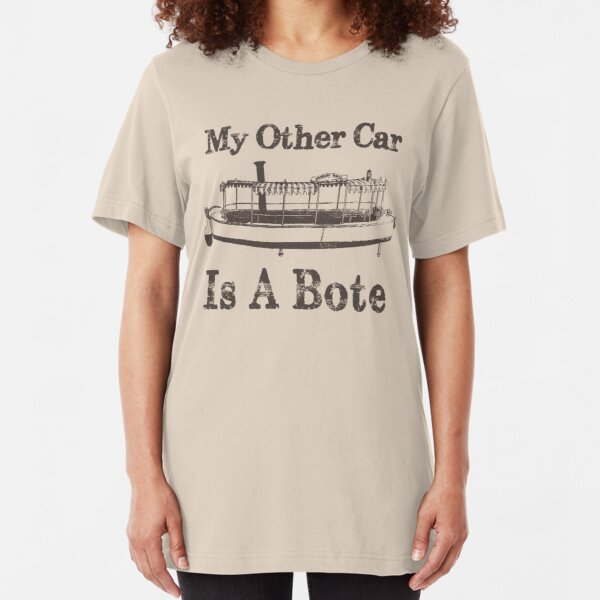 Jungle Cruise: My Other Car is a Bote Slim Fit T-Shirt