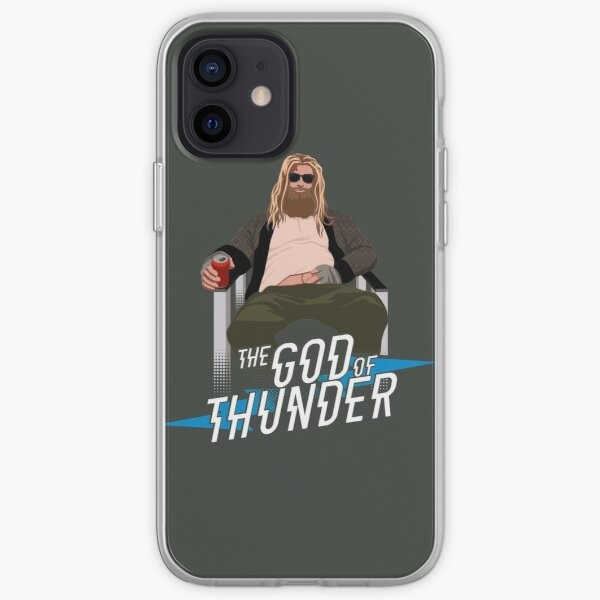 The God of Thunder iPhone Soft Case