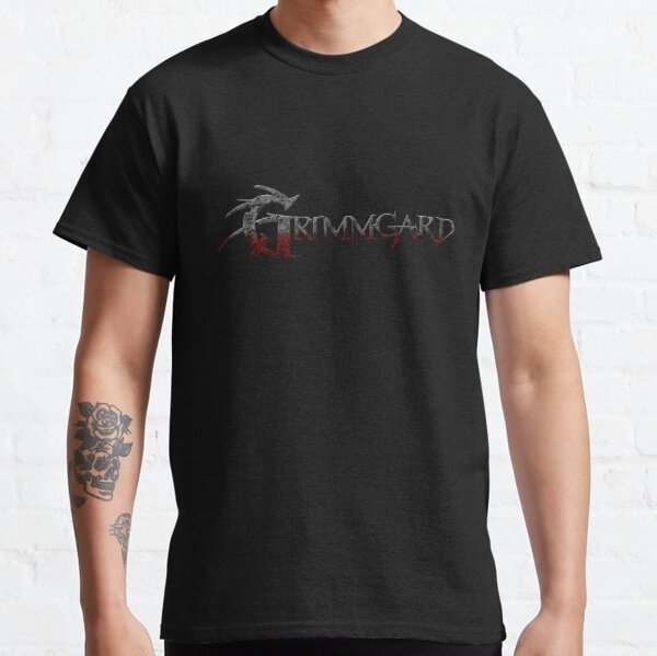 Grimmgard RPG Lettering Classic T-Shirt