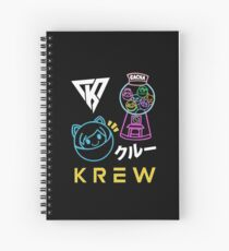 Funneh Cute Cartoon Spiral Notebook