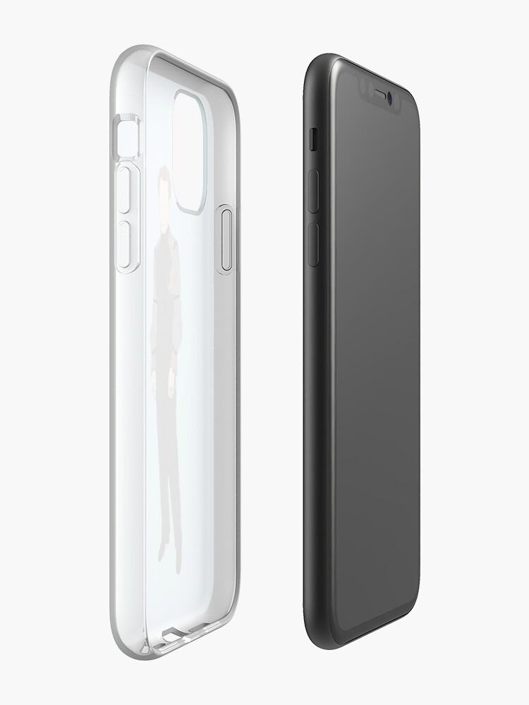 "surface schutzhülle - ""Met Gala Blue"" iPhone-Hülle & Cover von amaliasaliba"