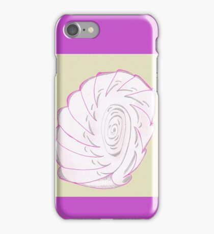 Pink Shell-like iPhone Case/Skin