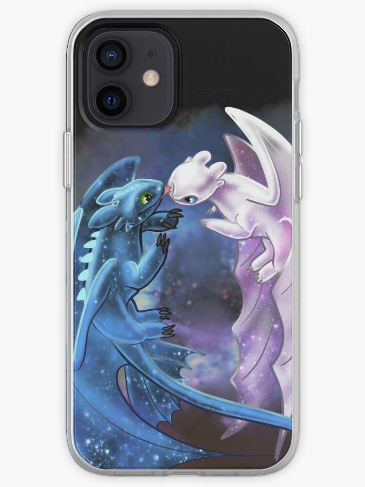 Dragon Heart - Dragons étoilés - Krokmou et Fureur légère | Coque iPhone