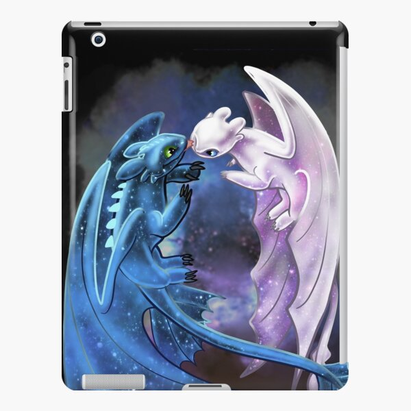 Dragon Heart - Starry Dragons - Toothless and Light Fury iPad Snap Case