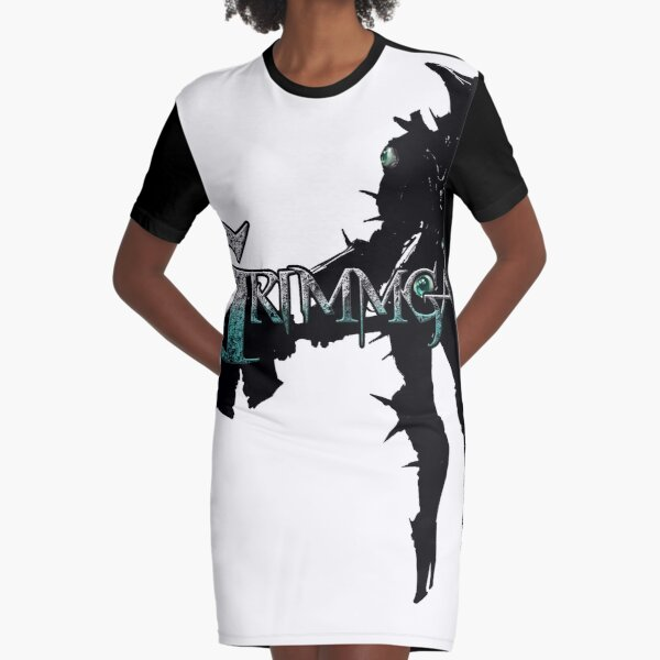 Chaos Armor Graphic T-Shirt Dress