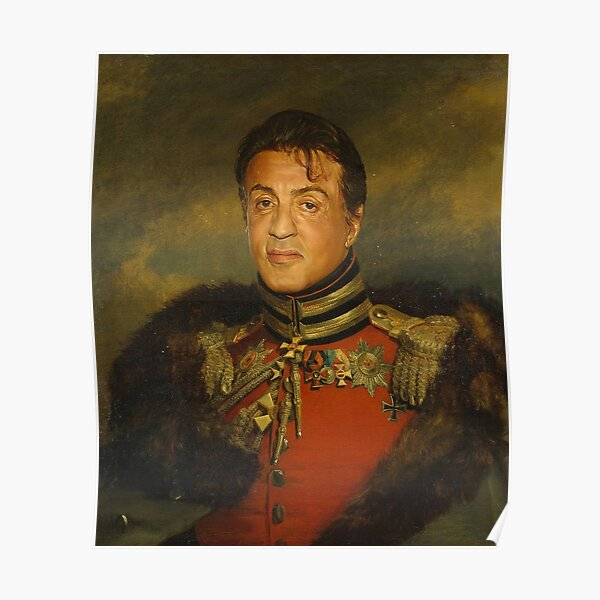Sylvester Stallone - replaceface Poster
