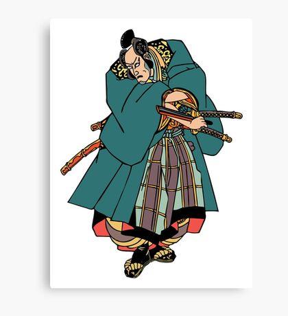 Samurai 6 Canvas Print