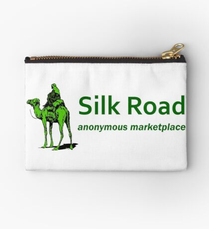 Silk Road Darknet Marketplace v1.0 Zipper Pouch