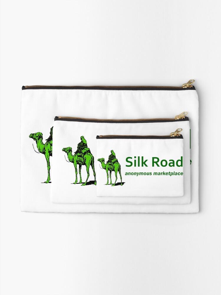 Alternate view of Silk Road Darknet Marketplace v1.0 Zipper Pouch