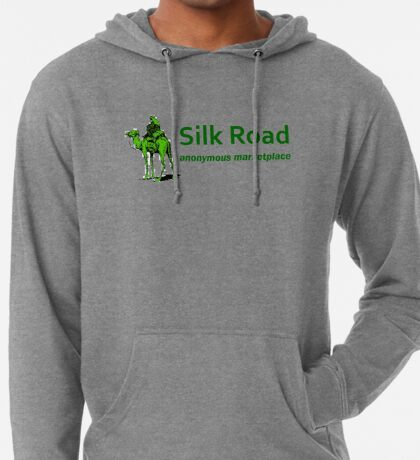 Silk Road Darknet Marketplace v1.0 Lightweight Hoodie