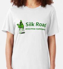 Silk Road Darknet Marketplace v1.0 Slim Fit T-Shirt