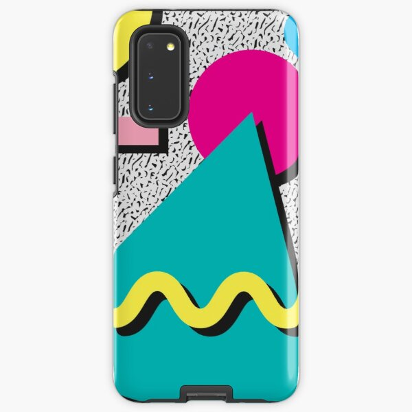 1980s Abstract Pattern Samsung Galaxy Tough Case