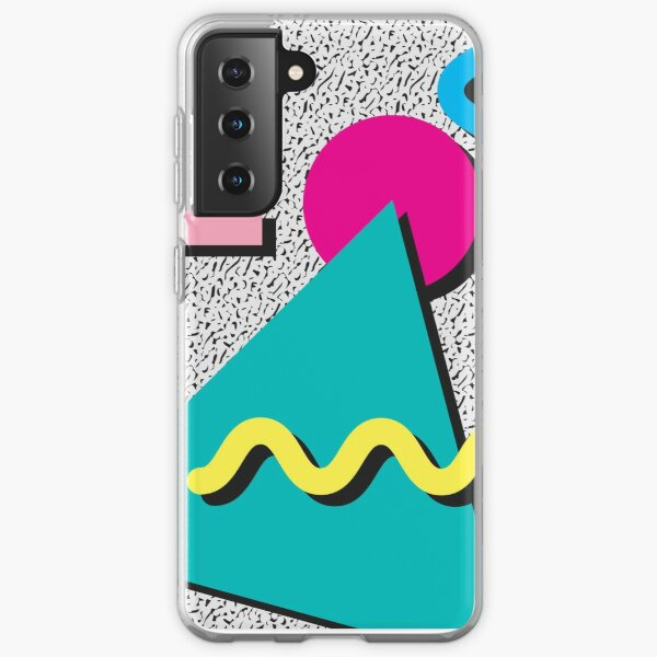 1980s Abstract Pattern Samsung Galaxy Soft Case