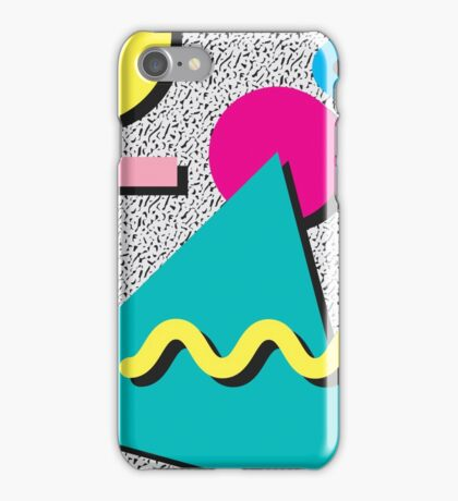 80s Abstract iPhone Case