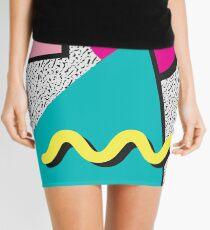 1980s Abstract Pattern Mini Skirt