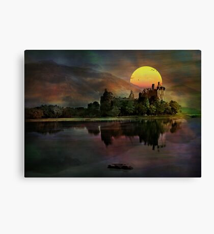 Kilchurn Castle .... Canvas Print