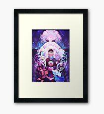 The Crystal Gems - Steven Universe Framed Print