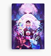 The Crystal Gems - Steven Universe Canvas Print