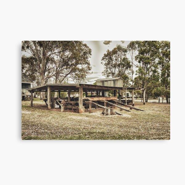 Bullock Wagon Shed Canvas Print