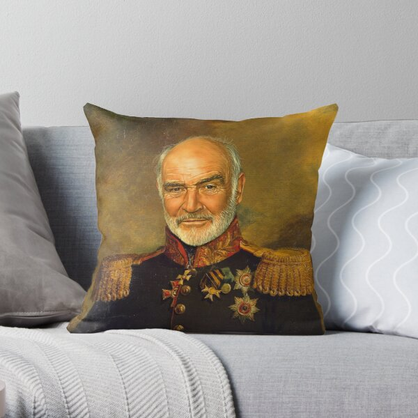 Alan Rickman Replaceface Throw Pillow By Replaceface Redbubble