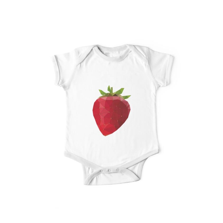 b8d8fcffe LowPoly Strawberry