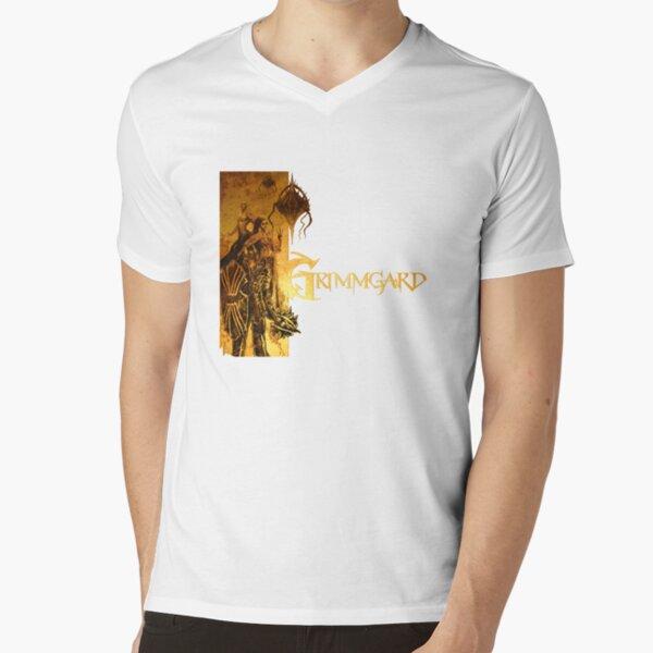 Golden Grimmgard V-Neck T-Shirt