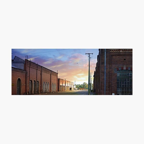 Old Rail Yard Photographic Print