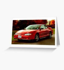 Don's Car 1 Greeting Card