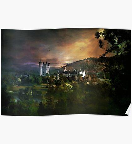 Balmoral Castle Poster