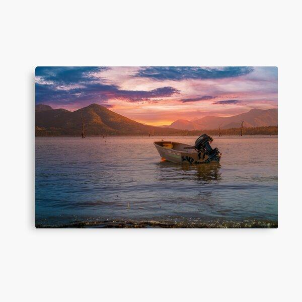 Another beautiful sunset at Lake Moogerah Canvas Print